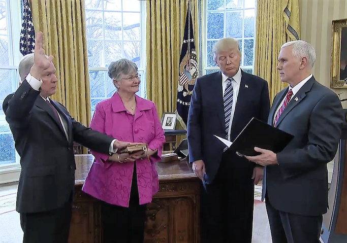 Jeff Sessions swearing in