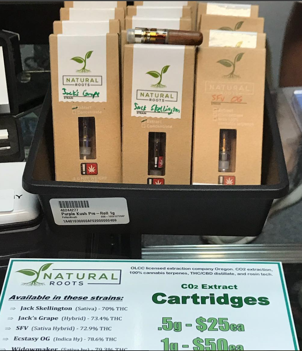 Natural Roots Cartridges