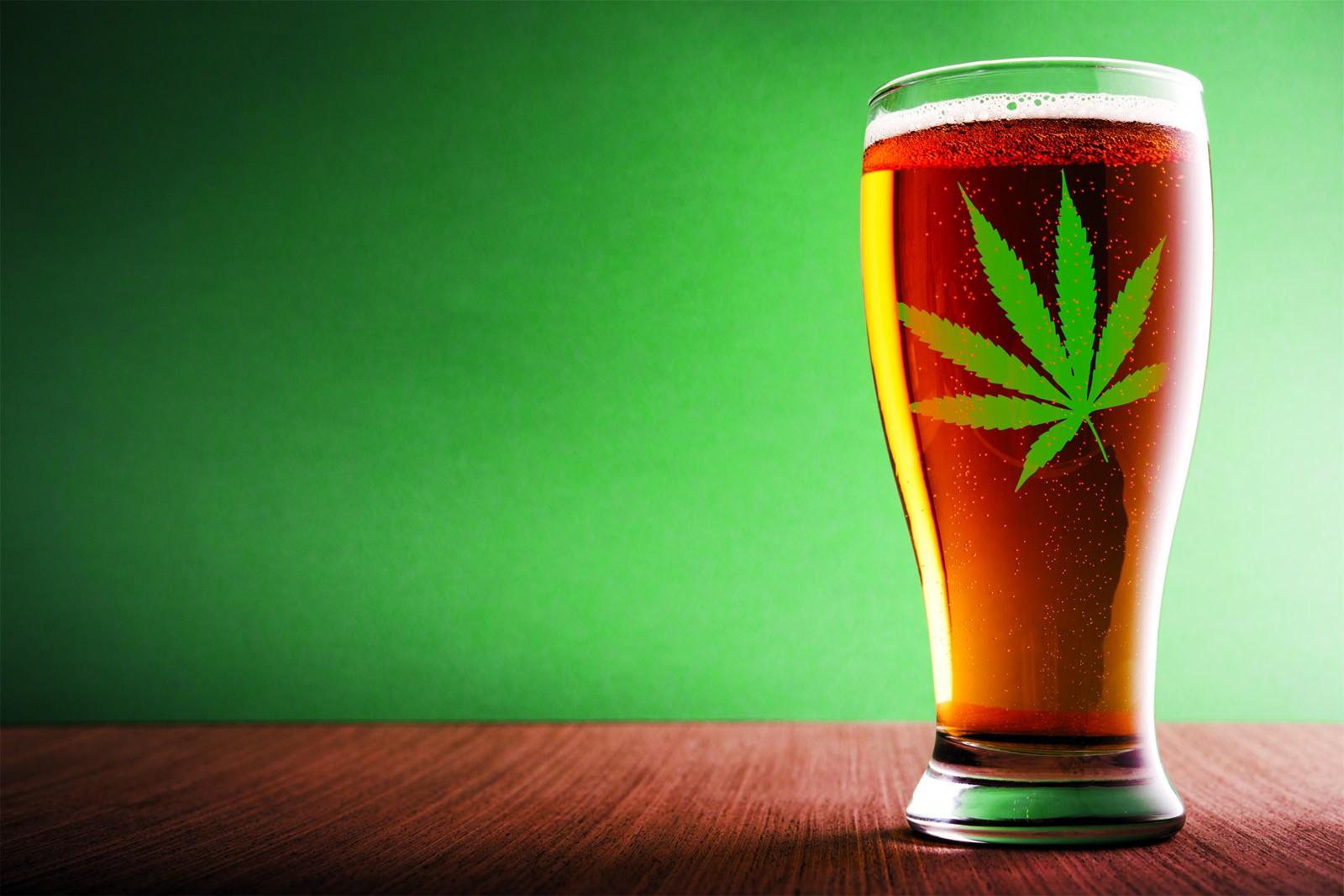 beer marijuana