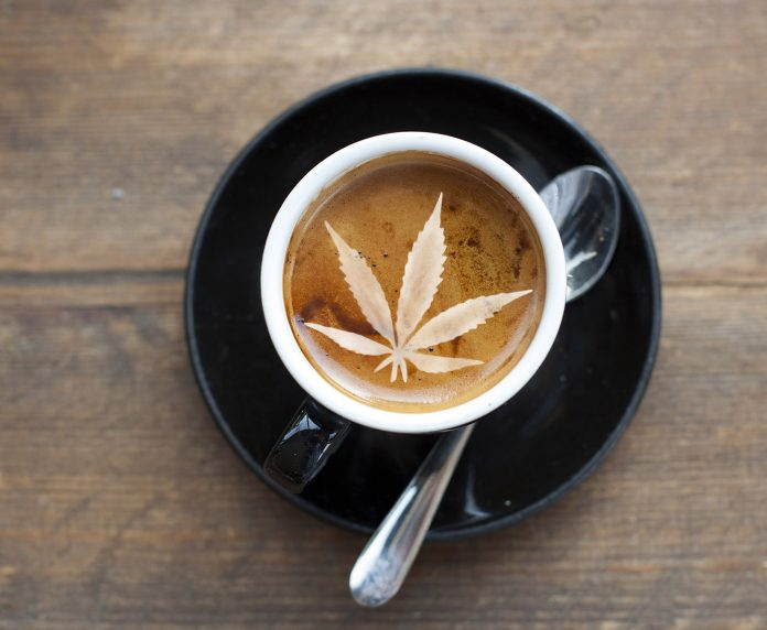 Coffee cannabis