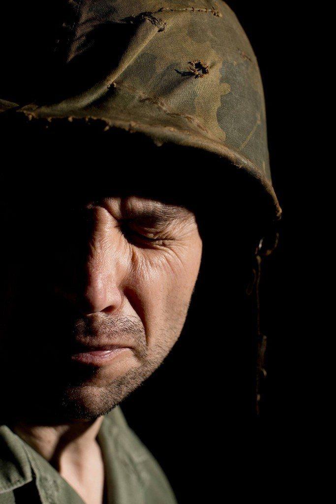 Military veteran PTSD