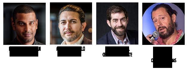 Gavin Sathianathan, Mauricio Agudelo, Scott Van Rixel, Dean Arbit