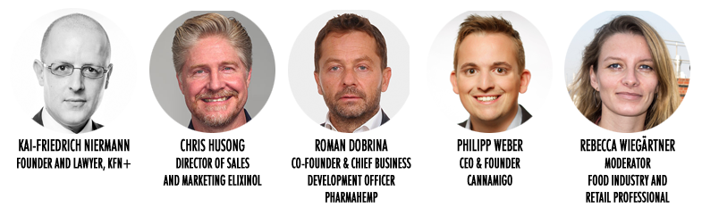 Kai-Friedrich Niermann, Chris Husong, Roman Dobrina, Philipp Weber, Rebecca Wiegartner