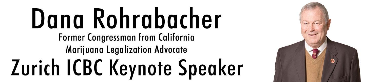 Dana Rohrabacher ICBC Zurich 2019 Keynote Speaker