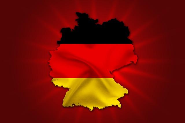 German boundary flag