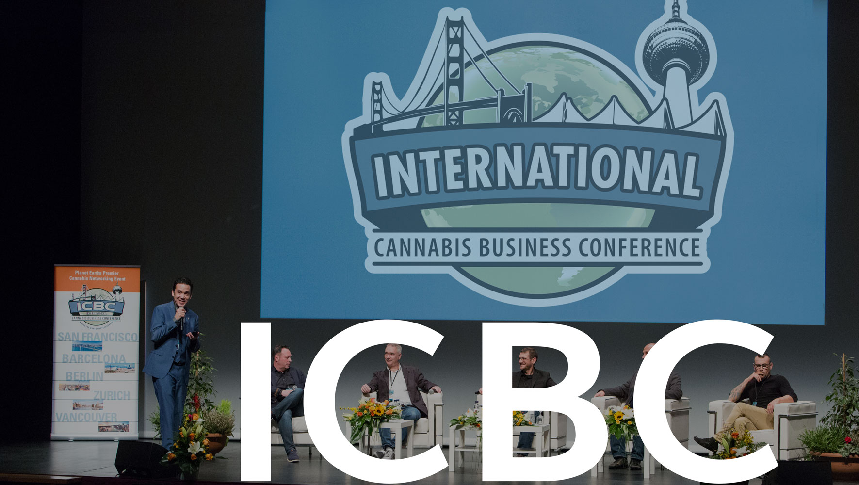 Home International Cannabis Business Conference Stage image