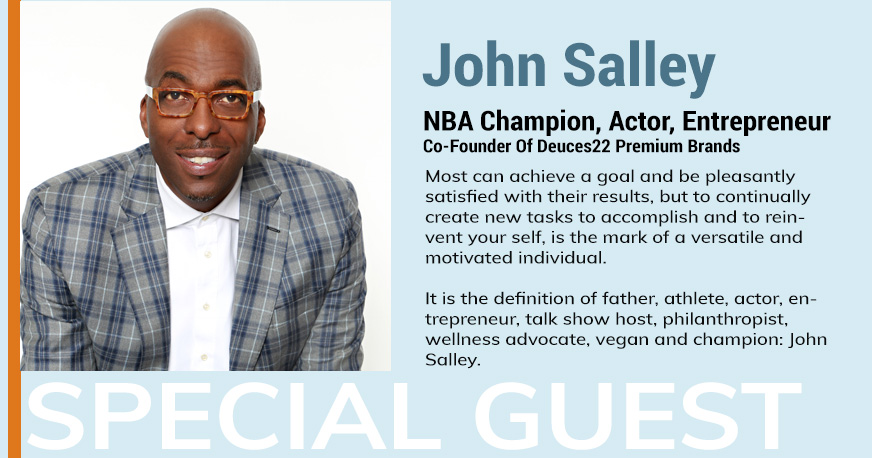 John Salley is the ICBC Vancouver 2019 Guest Speaker