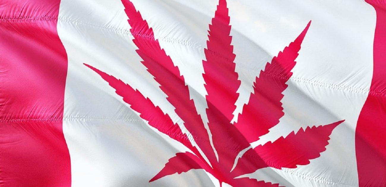 canada cannabis flag